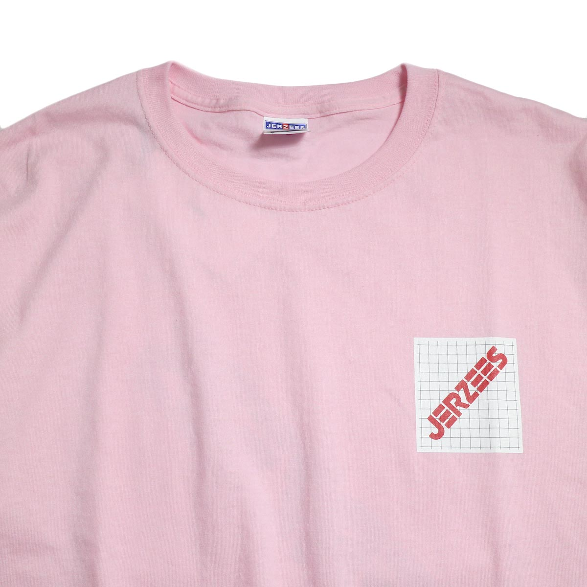N.HOOLYWOOD × JERZEES  / 191-CS44-070 Short Sleeve Tee -Pink 襟