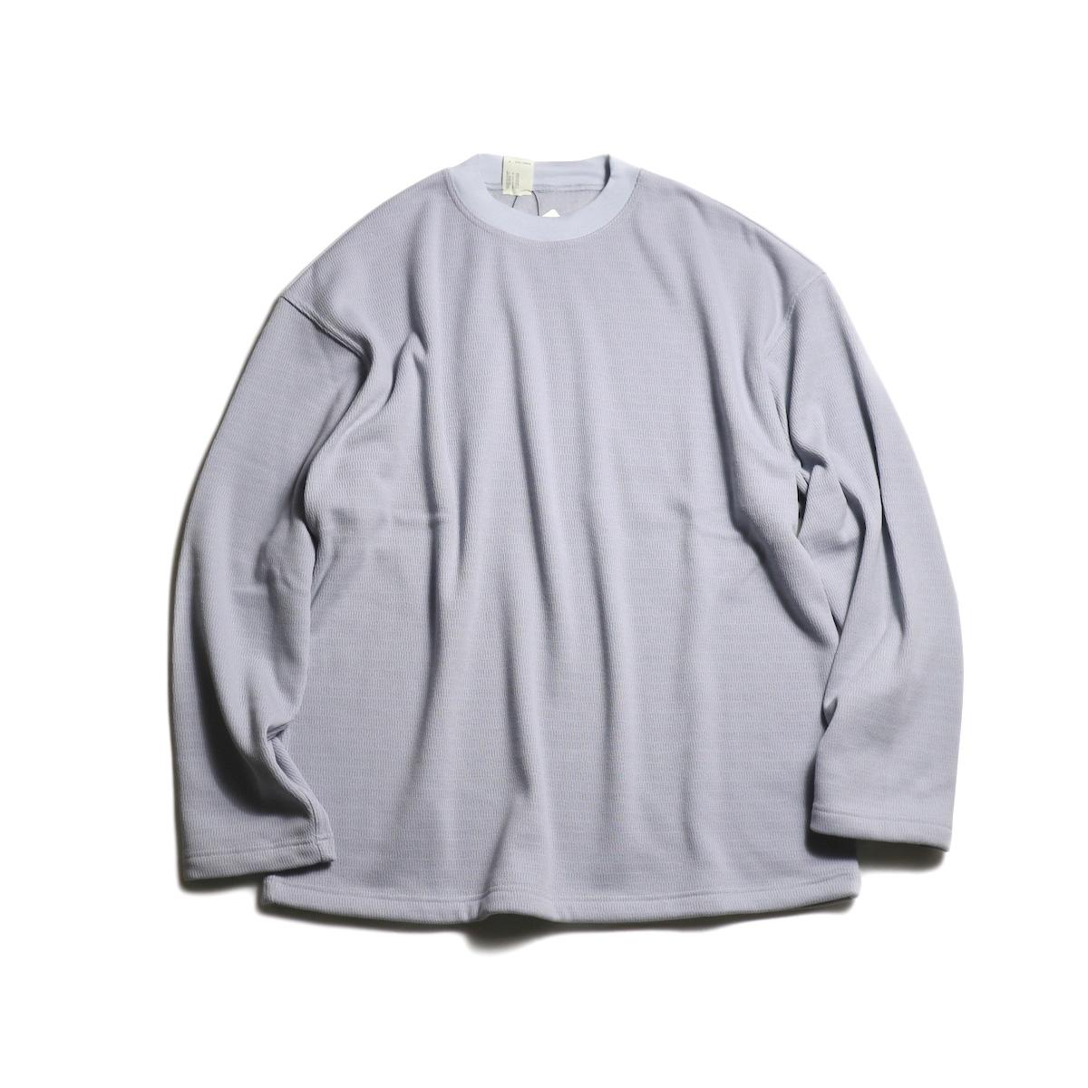 N.HOOLYWOOD / 192-CS14-033 Thermal L/S Tee (Gray)