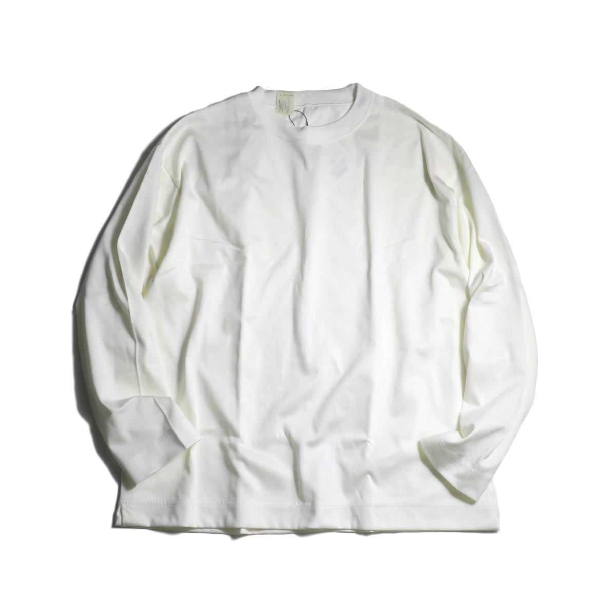 N.HOOLYWOOD / 20RCH-004 Crew Neck Long Sleeve (White)