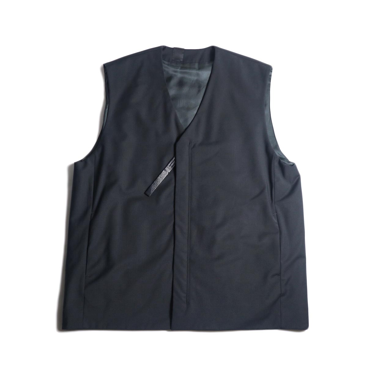N.HOOLYWOOD / 2202-VE03-002 Vest (Black) 正面