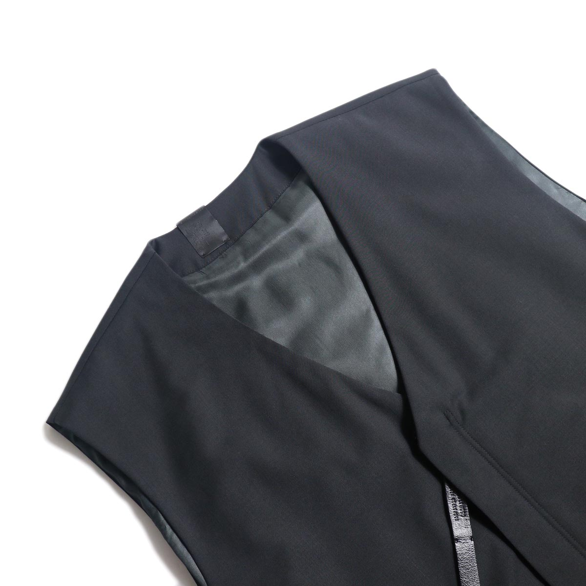 N.HOOLYWOOD / 2202-VE03-002 Vest (Black) ネック