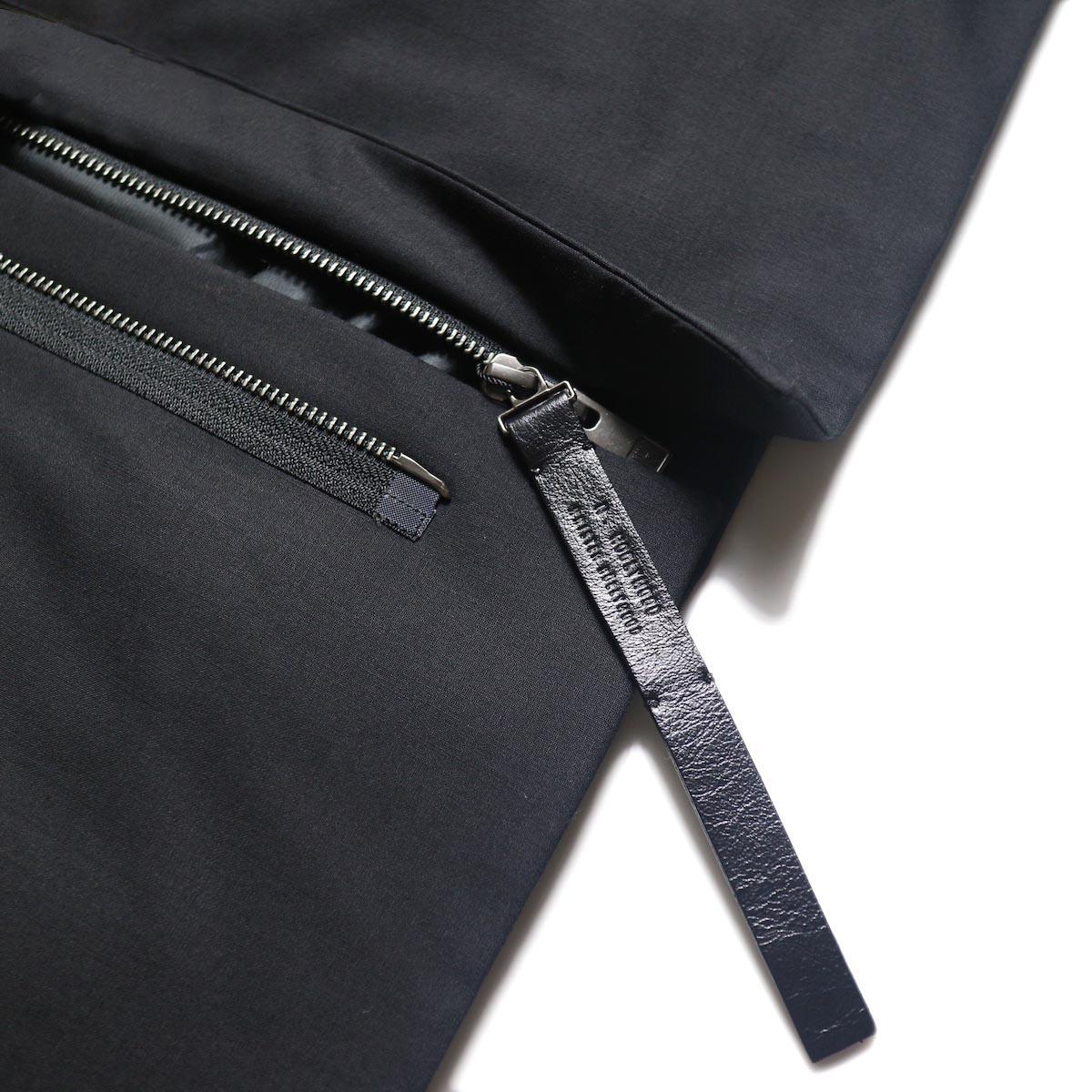 N.HOOLYWOOD / 2202-VE03-002 Vest (Black) ファスナー
