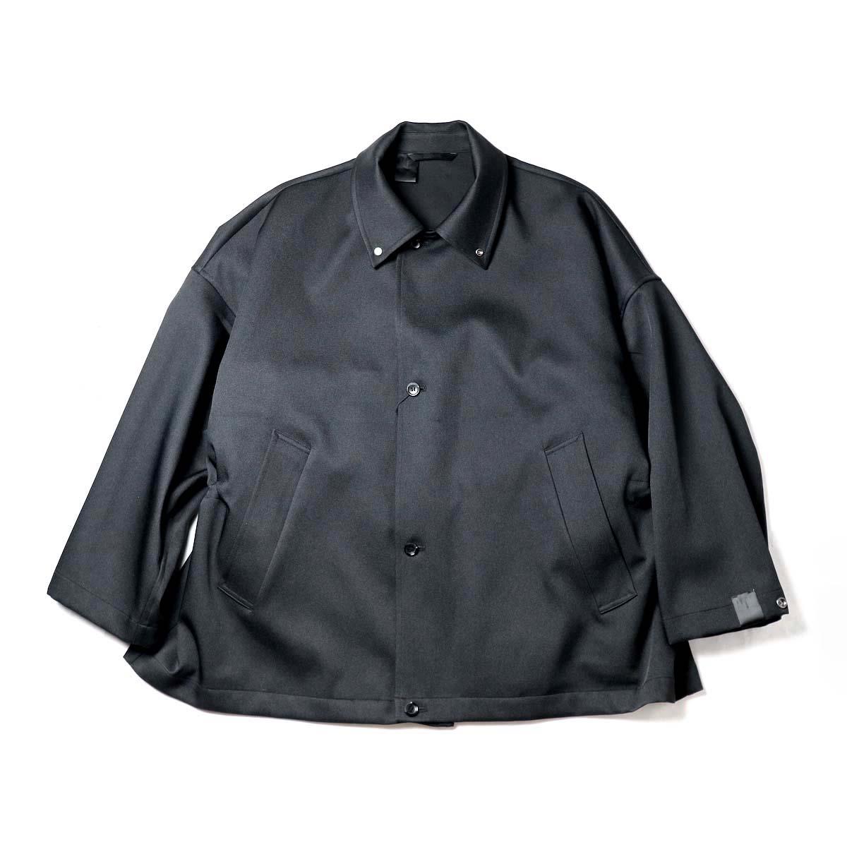 N.HOOLYWOOD / 2202-CO10-017 BALMACAAN HALF COAT (Black)