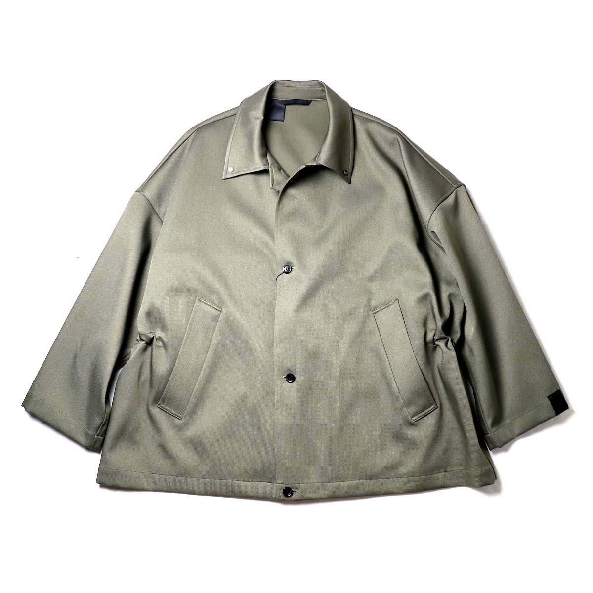 N.HOOLYWOOD / 2202-CO10-017 BALMACAAN HALF COAT (Khaki)
