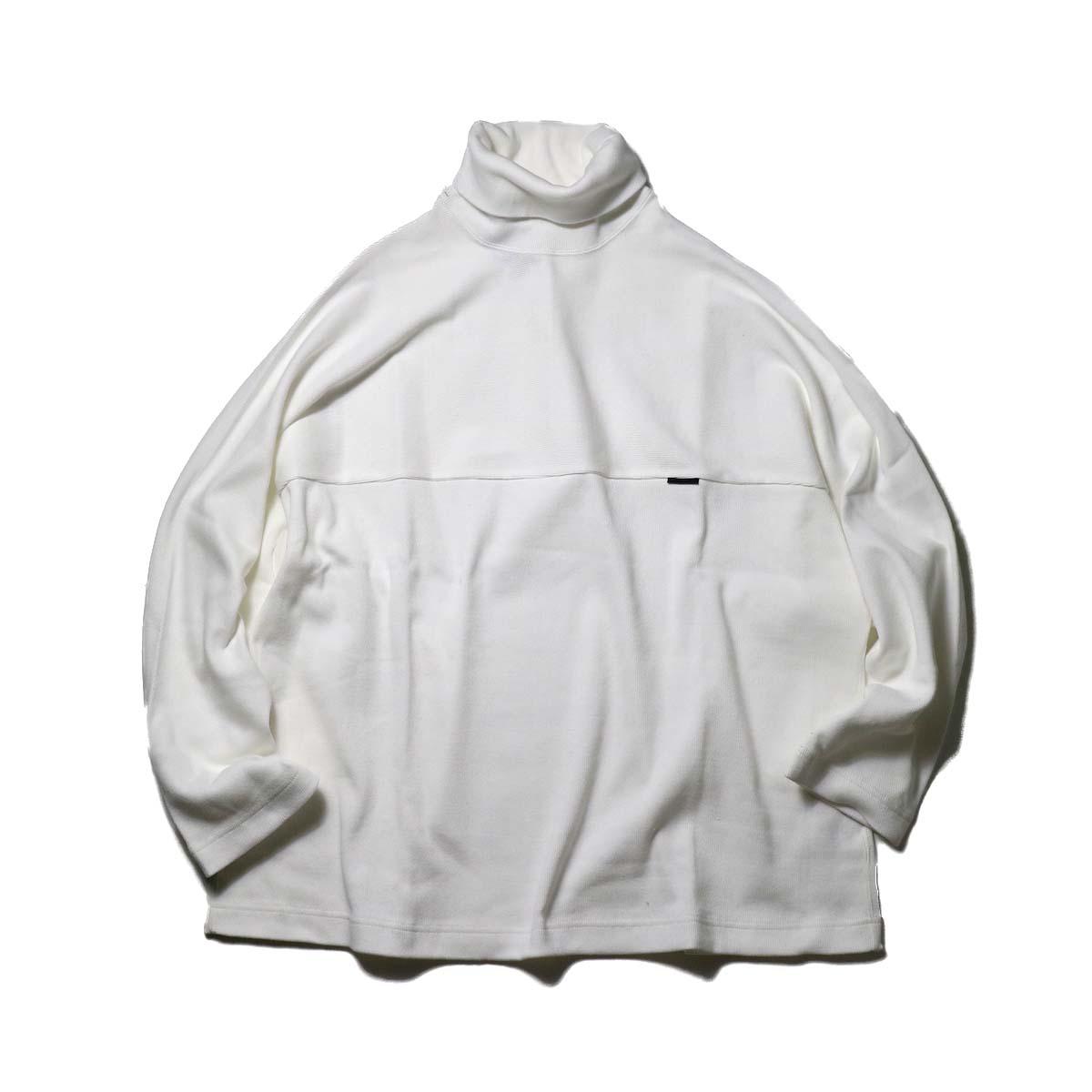 N.HOOLYWOOD / 2202-CS04-021 HIGH NECK T-SHIRT (White)
