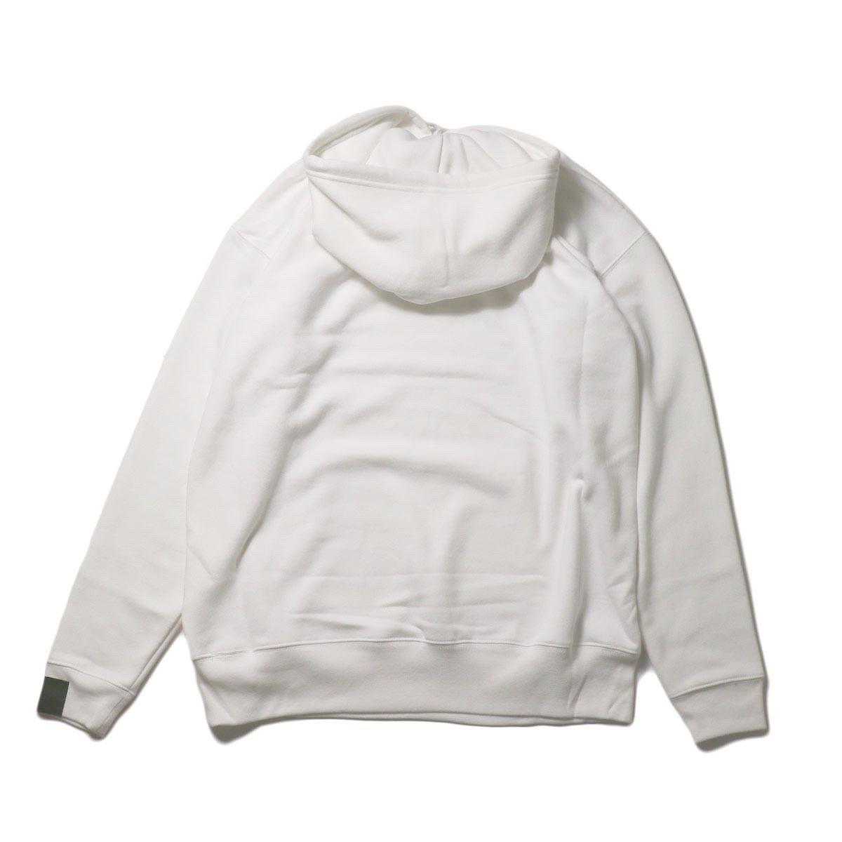N.HOOLYWOOD / 2202-CS80-033 Sweat Hoodie (White) 背面