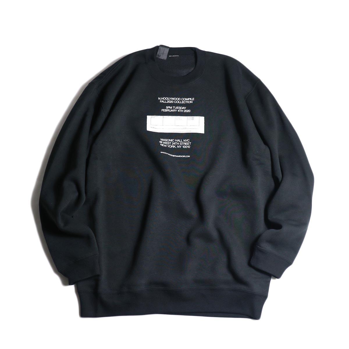 N.HOOLYWOOD / 2202-CS81-033 Sweat Shirt (Black)