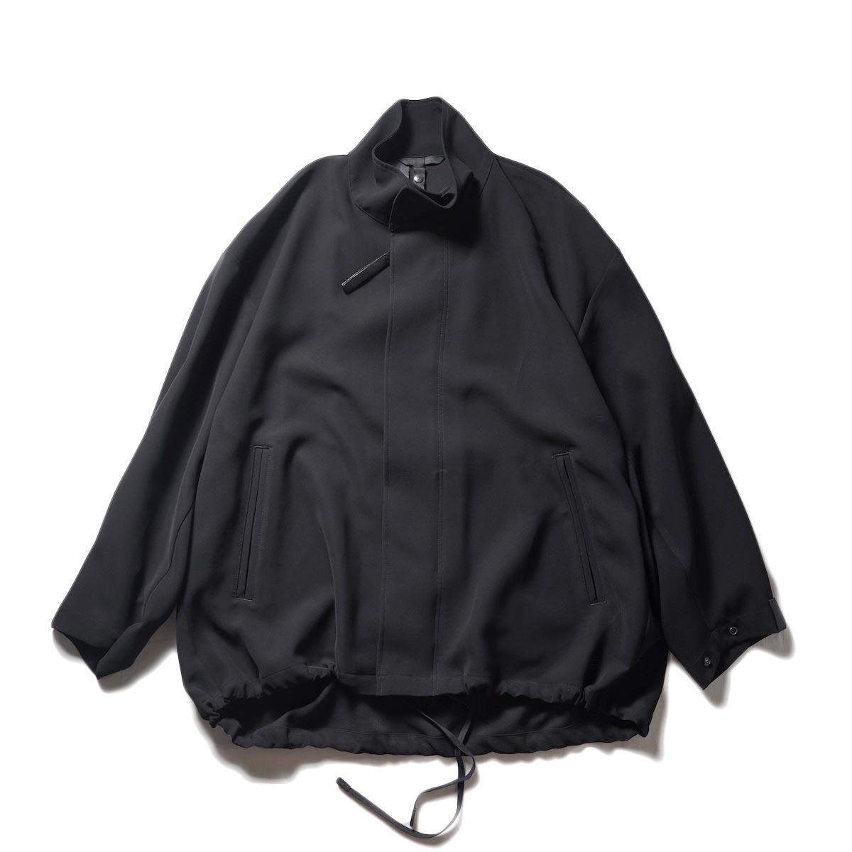 N.HOOLYWOOD / 2212-BL02-098 peg STAND COLLAR BLOUSON (Black)