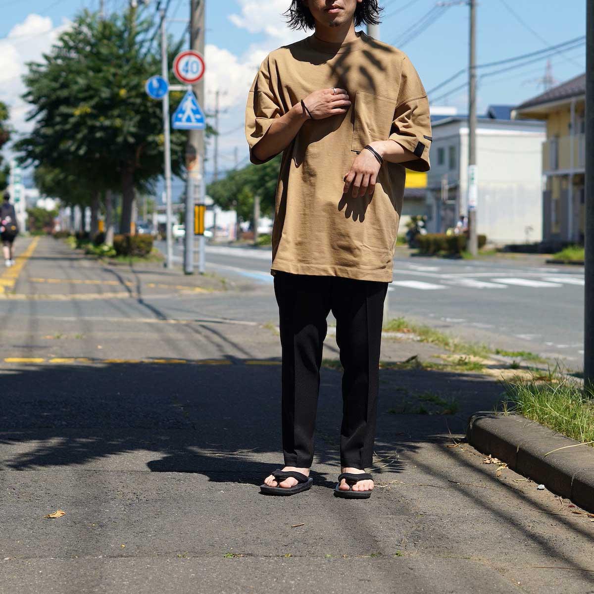 N.HOOLYWOOD / 2212-CP07-008 peg Tapered Easy Pants (Black)162cm 36サイズ着用