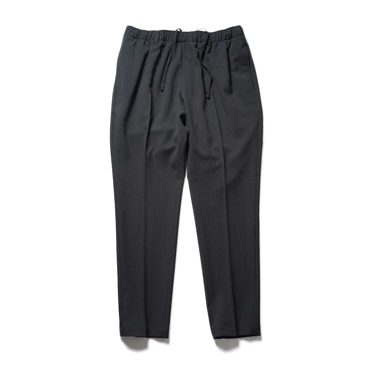 N.HOOLYWOOD / 2212-CP07-008 peg Tapered Easy Pants (Black)