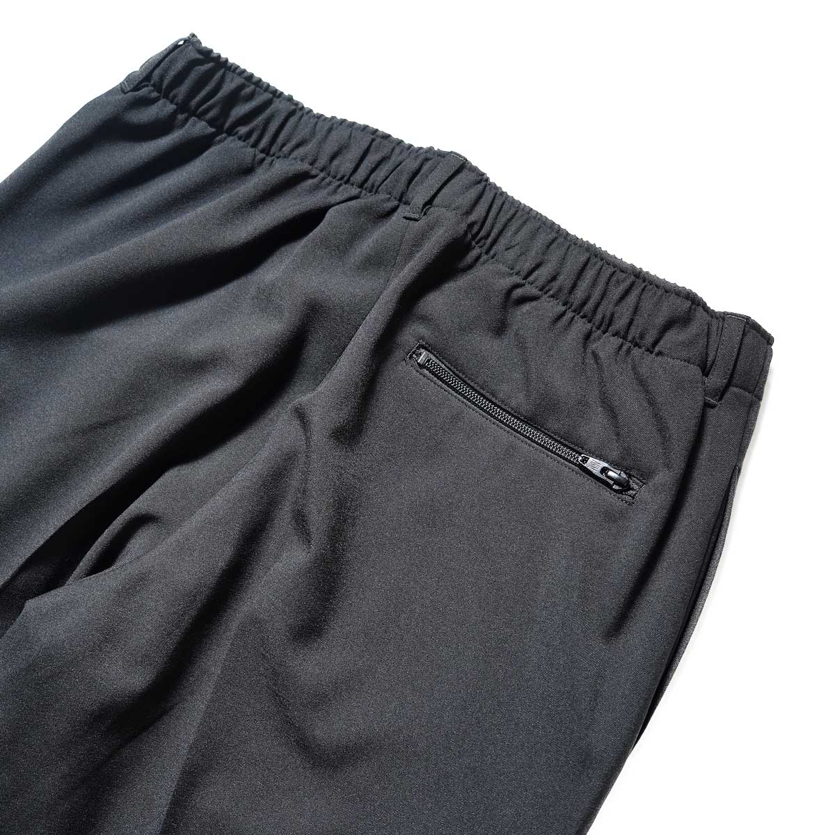 N.HOOLYWOOD / 2212-CP07-008 peg Tapered Easy Pants (Black)ヒップポケット