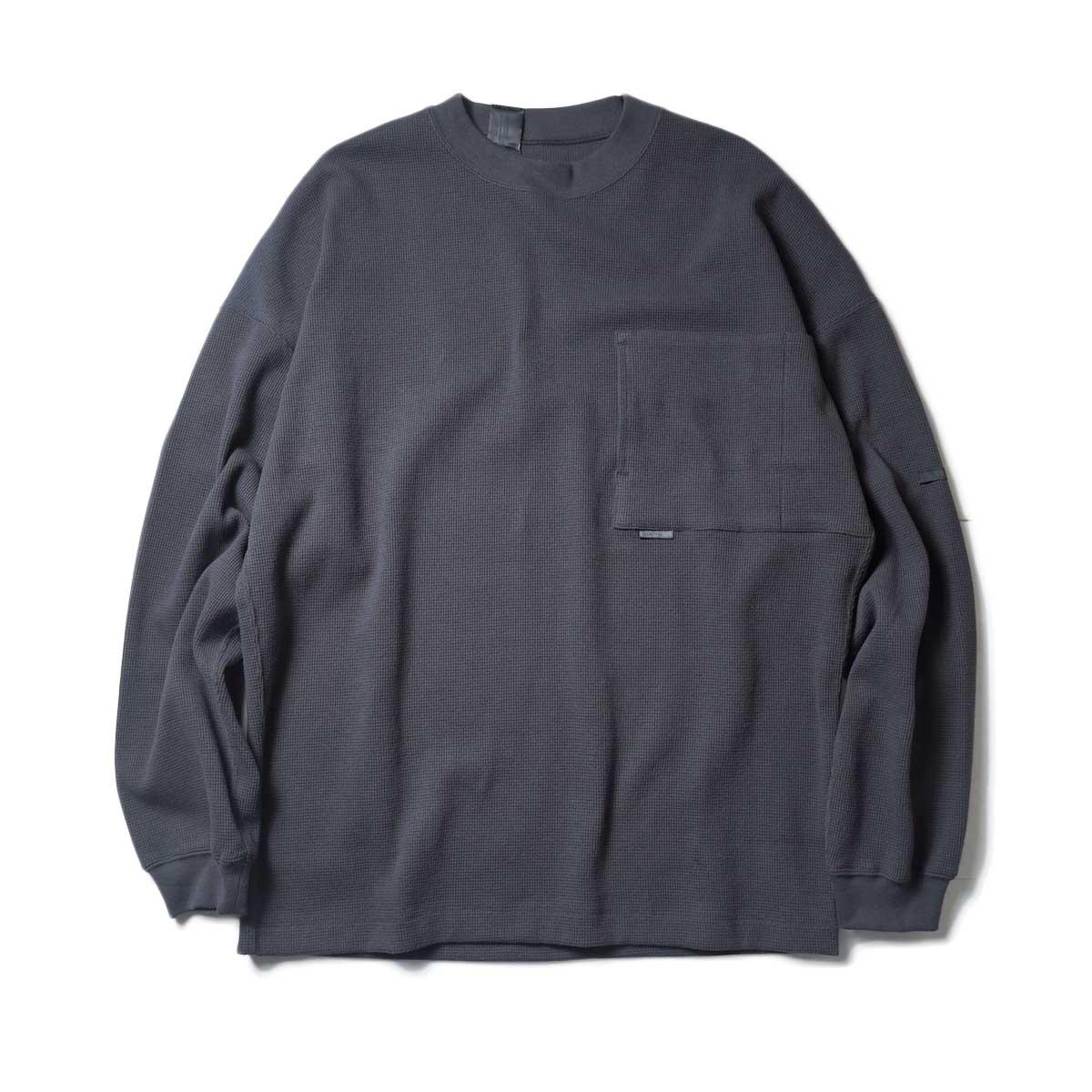 N.HOOLYWOOD / LONG SLEEVE T-SHIRT (Charcoal)