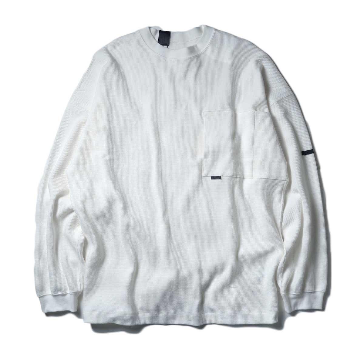 N.HOOLYWOOD / LONG SLEEVE T-SHIRT (White)