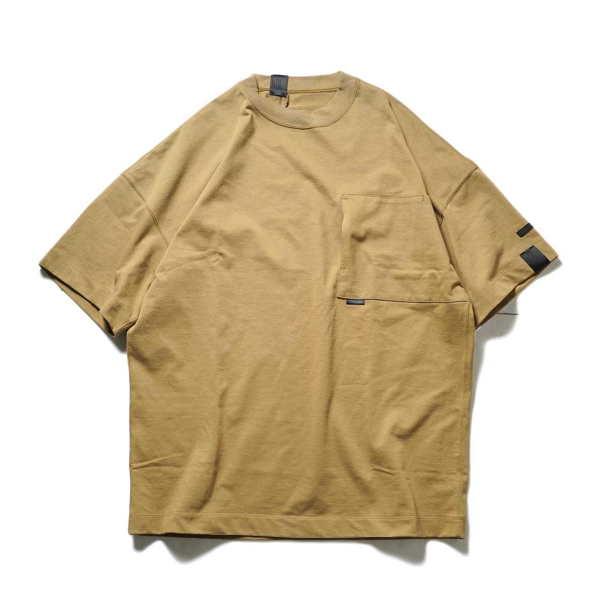 N.HOOLYWOOD / 2212-CS07-018 BIG T-Shirt (Beige)