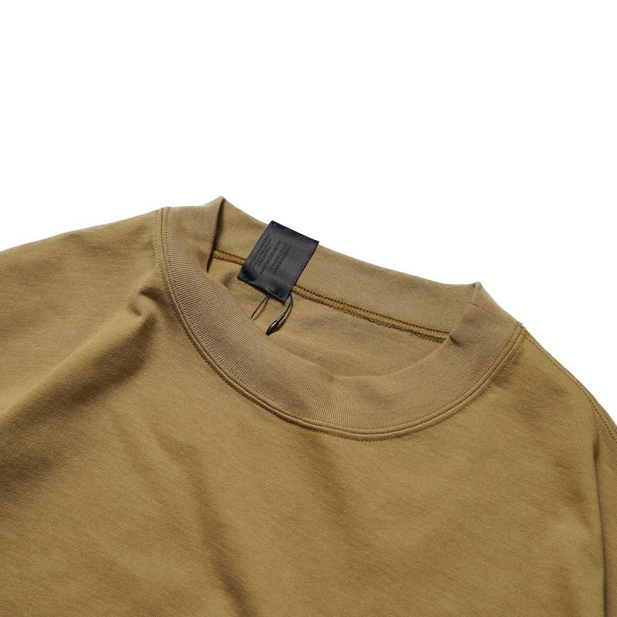 N.HOOLYWOOD / 2212-CS07-018 BIG T-Shirt (Beige)襟