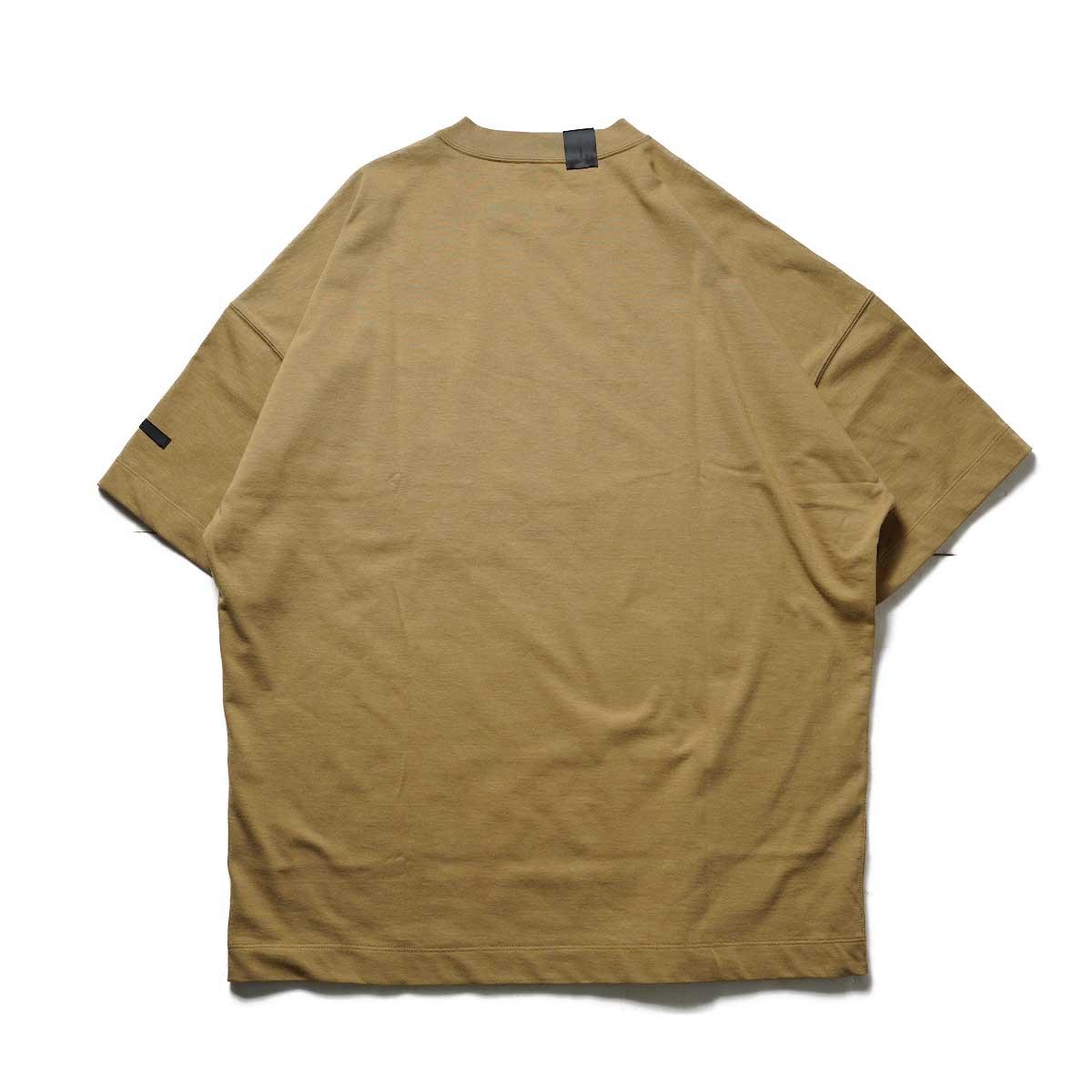 N.HOOLYWOOD / 2212-CS07-018 BIG T-Shirt (Beige)背面