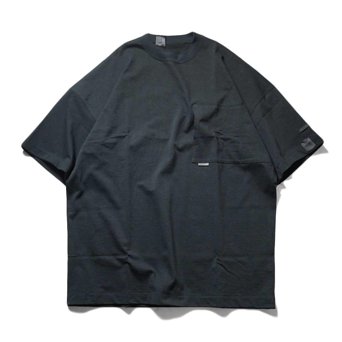 N.HOOLYWOOD / 2212-CS07-018 BIG T-Shirt (Black)