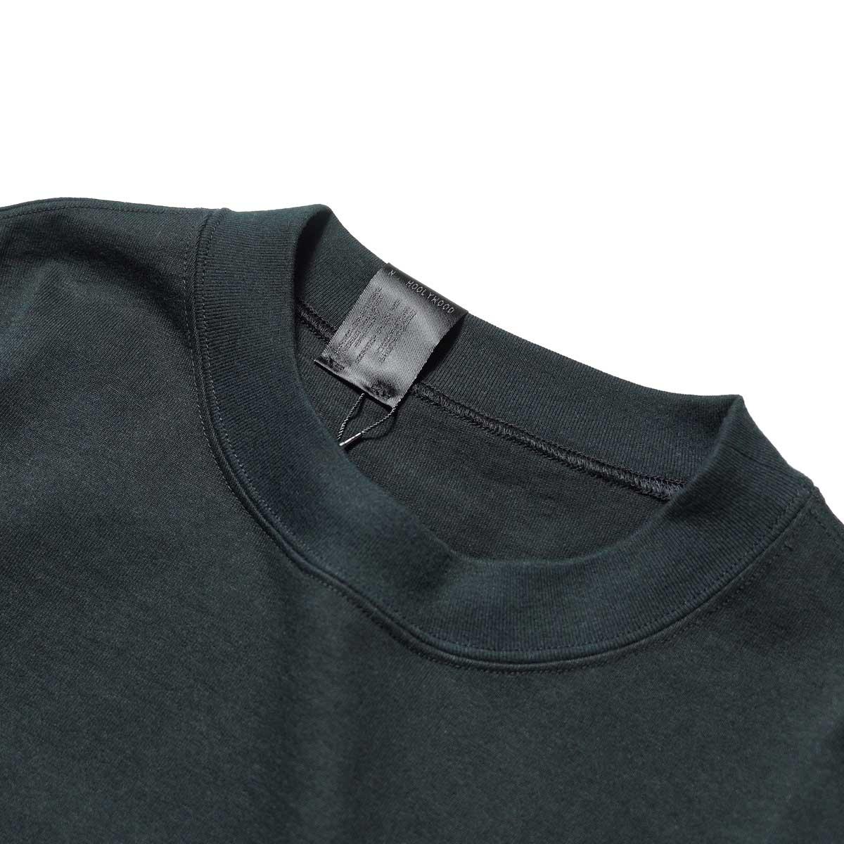 N.HOOLYWOOD / 2212-CS07-018 BIG T-Shirt (Black)襟