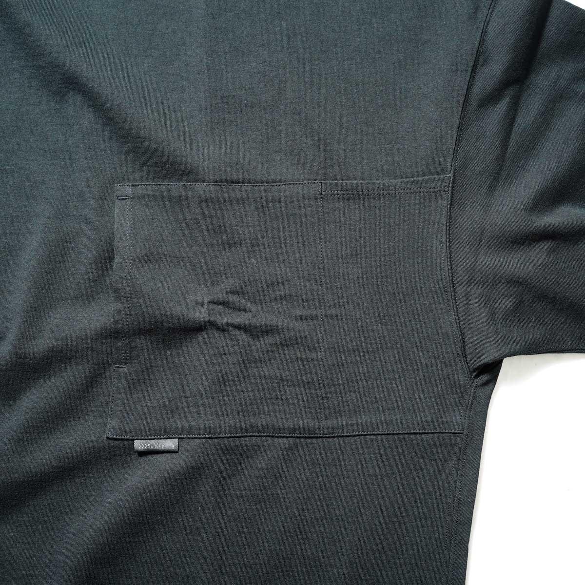 N.HOOLYWOOD / 2212-CS07-018 BIG T-Shirt (Black)ポケット