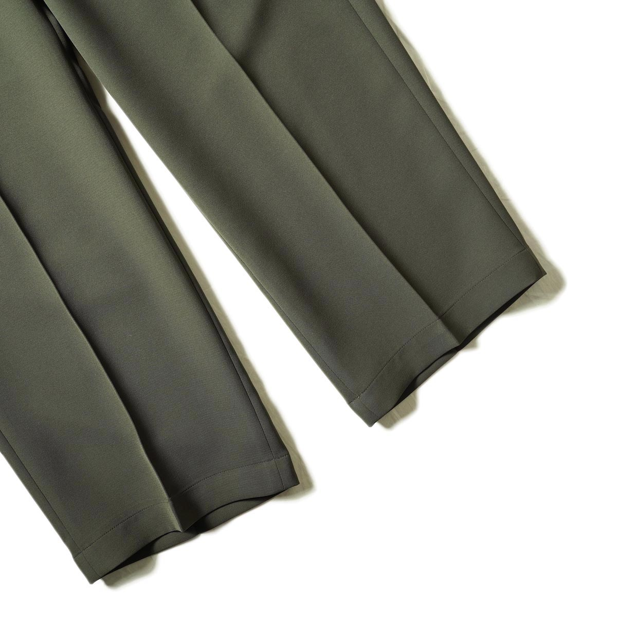 N.HOOLYWOOD / 2212-PT06-098 Wide Tapered Easy Slacks (Charcoal)裾