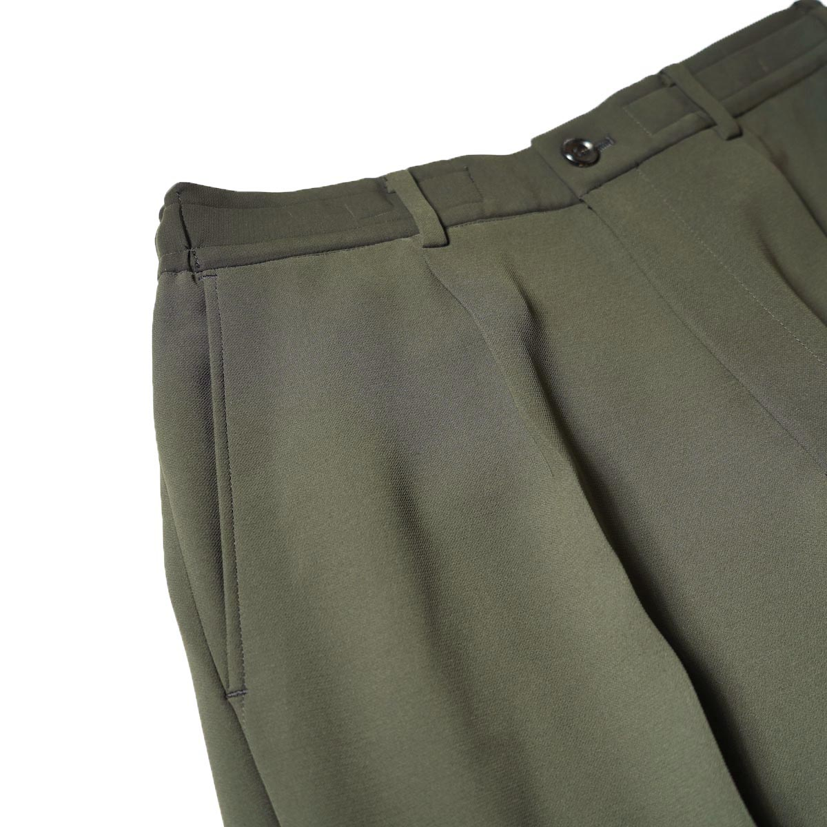 N.HOOLYWOOD / 2212-PT06-098 Wide Tapered Easy Slacks (Charcoal)1タック
