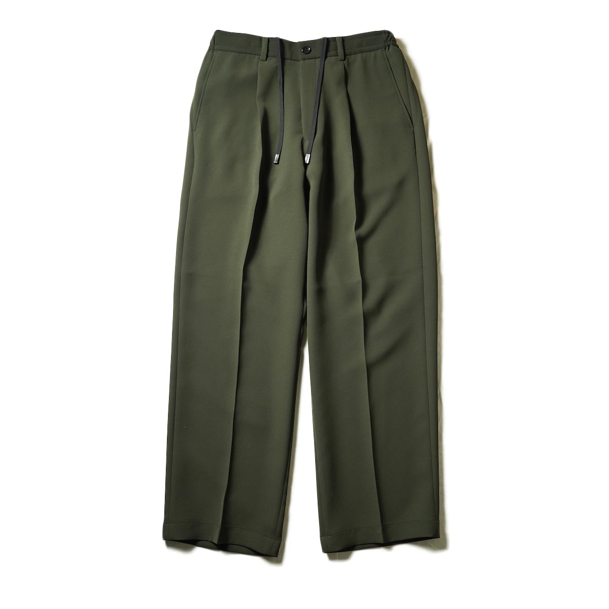 N.HOOLYWOOD / 2212-PT06-098 Wide Tapered Easy Slacks (Charcoal)正面