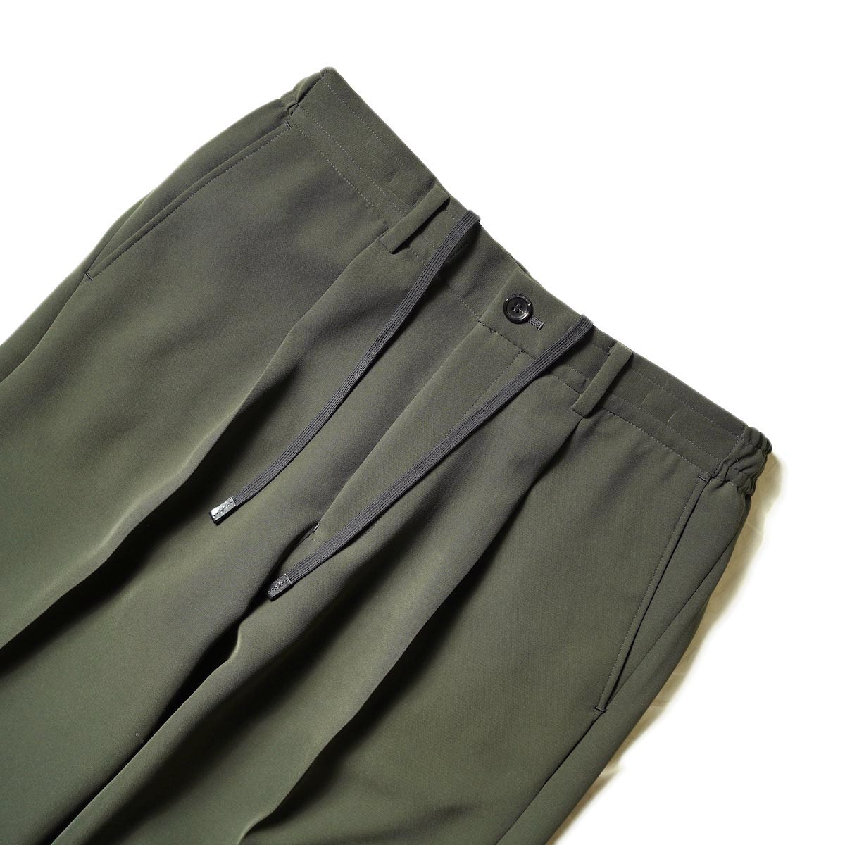 N.HOOLYWOOD / 2212-PT06-098 Wide Tapered Easy Slacks (Charcoal)ウエスト