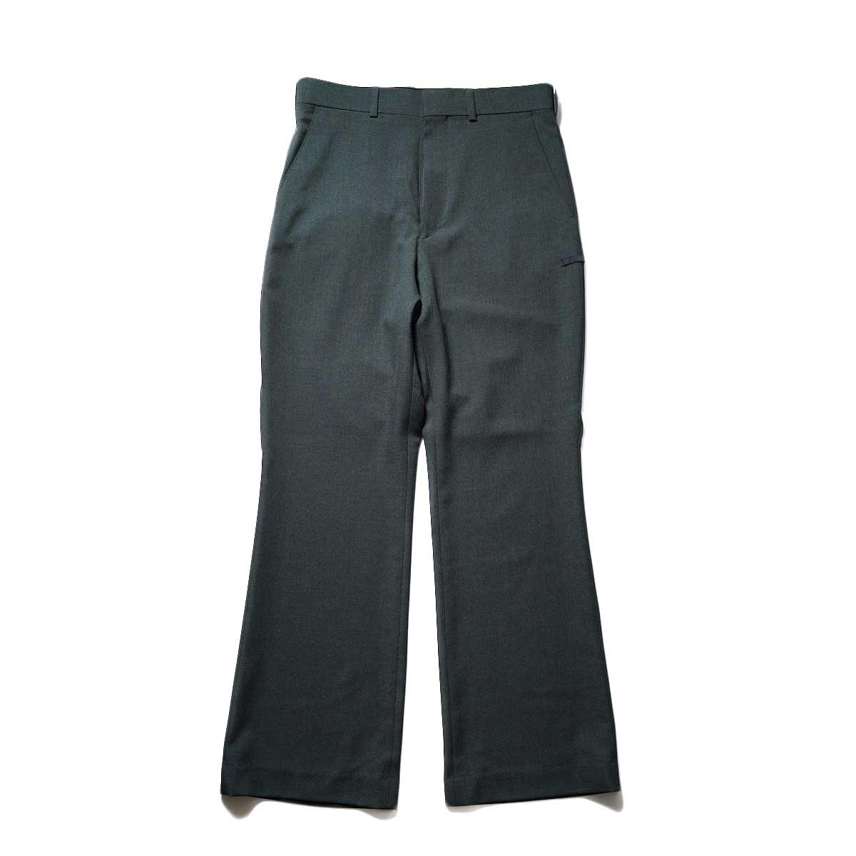 N.HOOLYWOOD / 2212-PT21-008 Flair Slacks (Charcoal)