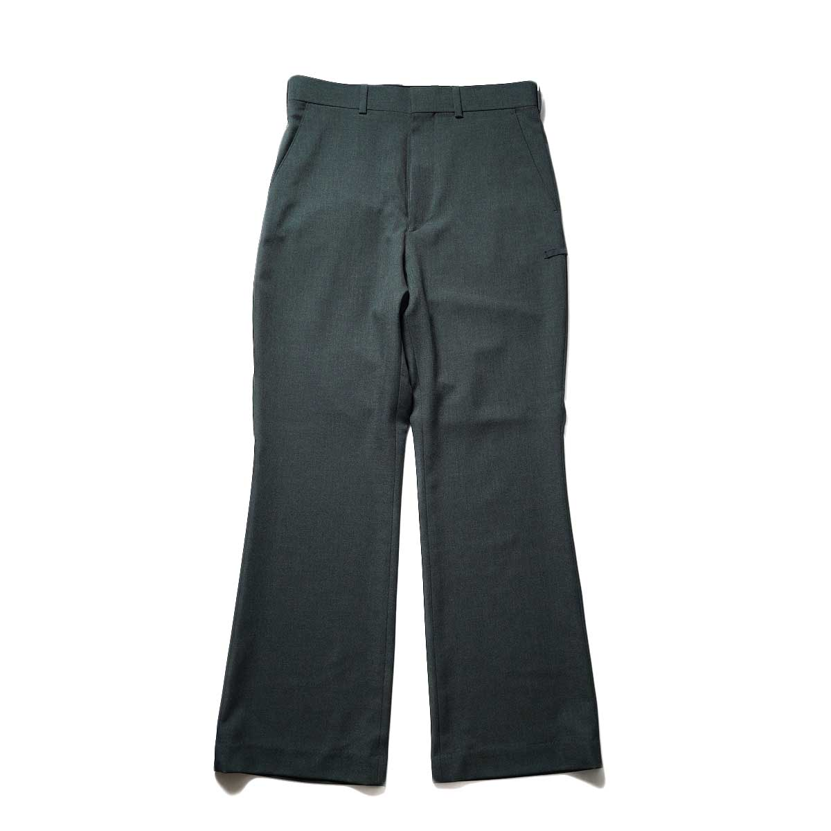 N.HOOLYWOOD / 2212-PT21-008 Flair Slacks (Charcoal)正面