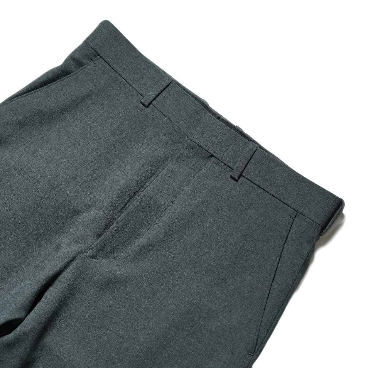 N.HOOLYWOOD / 2212-PT21-008 Flair Slacks (Charcoal)ウエスト