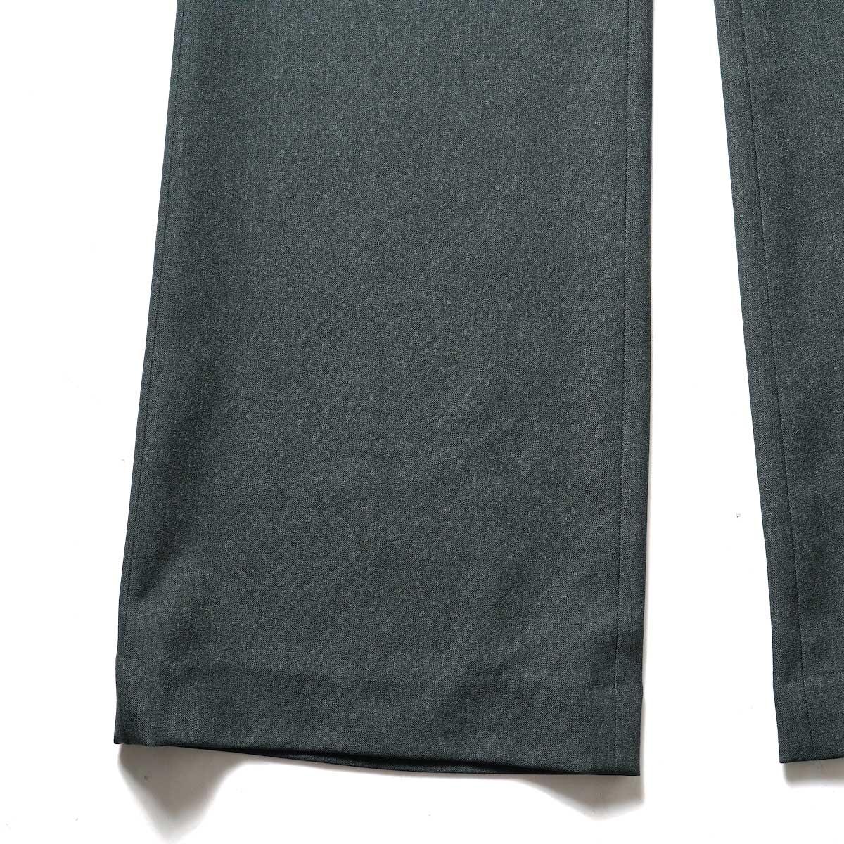 N.HOOLYWOOD / 2212-PT21-008 Flair Slacks (Charcoal)裾