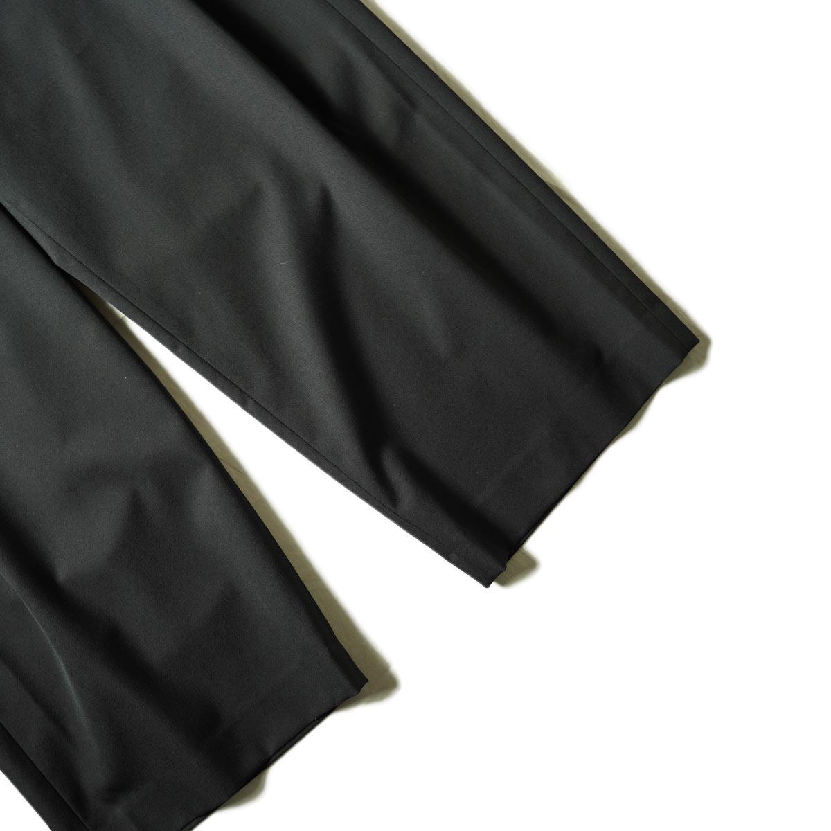 N.HOOLYWOOD / 2212-PT25-022 1TUCK SLACKS (Black)裾