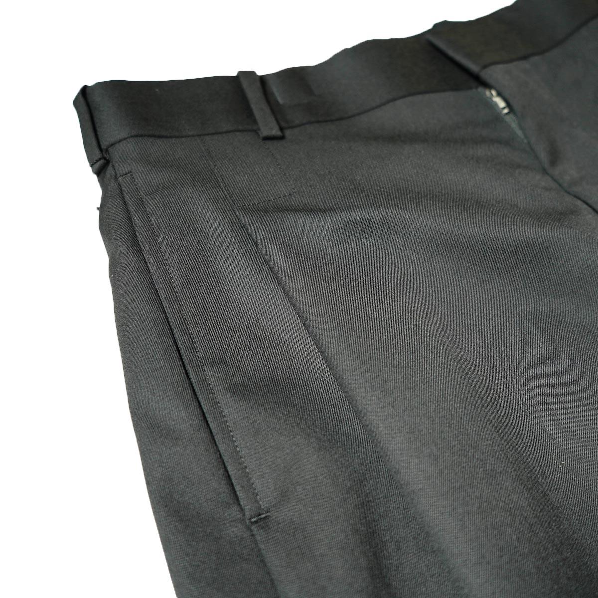 N.HOOLYWOOD / 2212-PT25-022 1TUCK SLACKS (Black)1タック