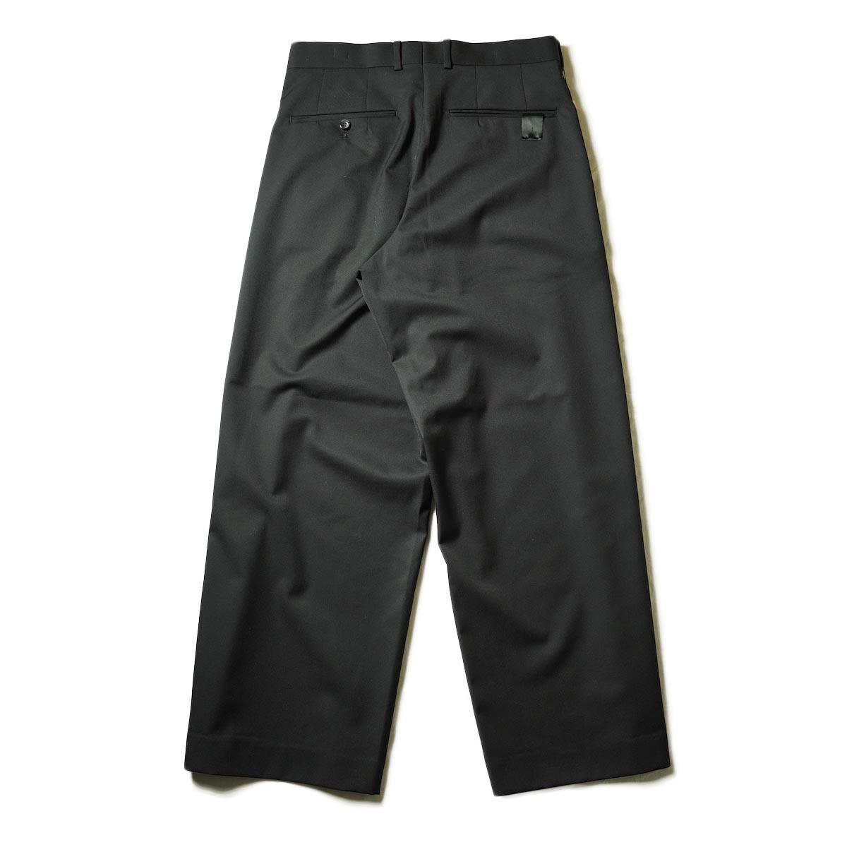 N.HOOLYWOOD / 2212-PT25-022 1TUCK SLACKS (Black)背面