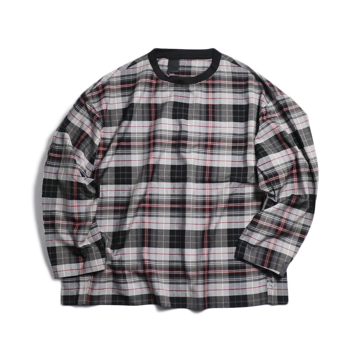 N.HOOLYWOOD / 291-SH08-004-peg Pullover Shirt (Bk.Check)