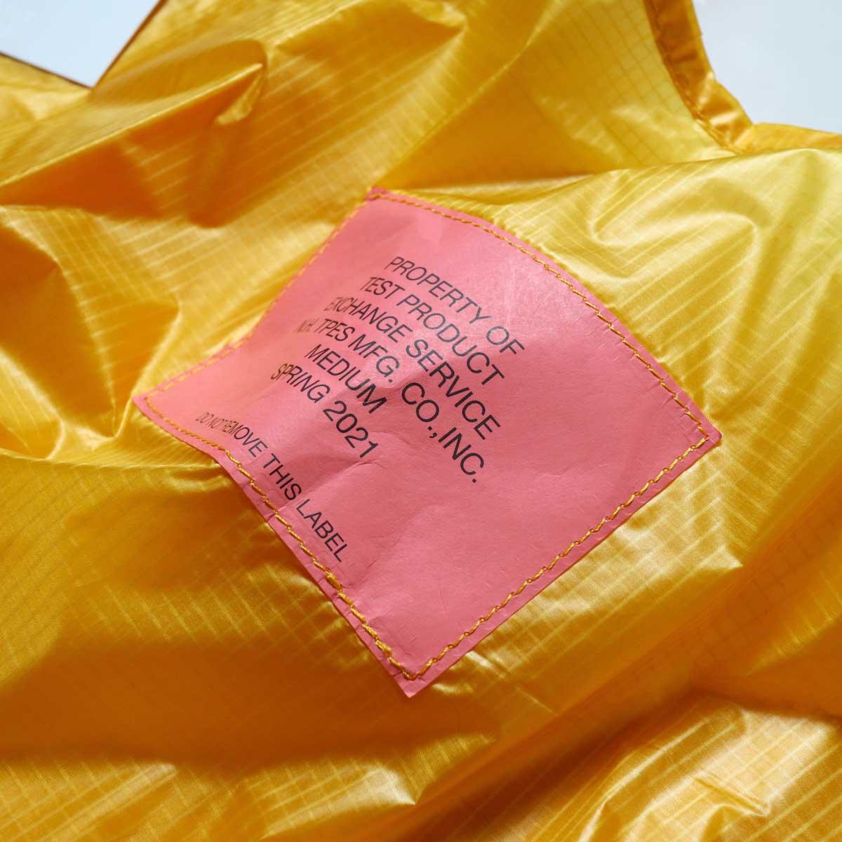 N.HOOLYWOOD / 9211-AC84 pieces BAG (MEDIUM)yellow 生地感
