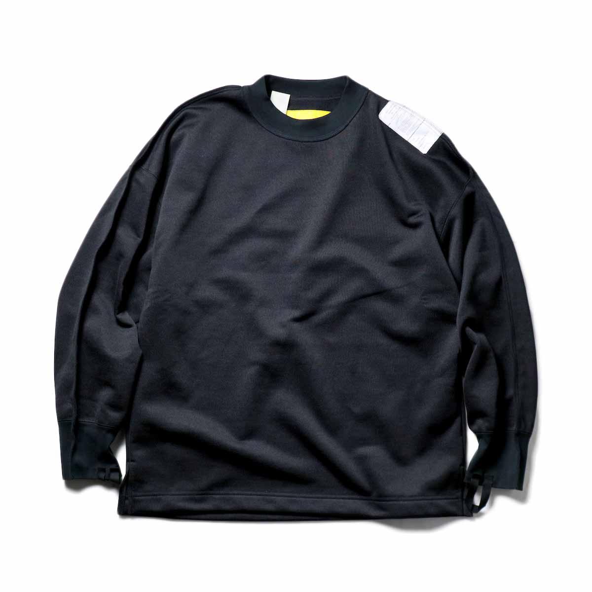 N.HOOLYWOOD / 9211-CS08-024pieces Crew Neck Sweat Shirt (Black)