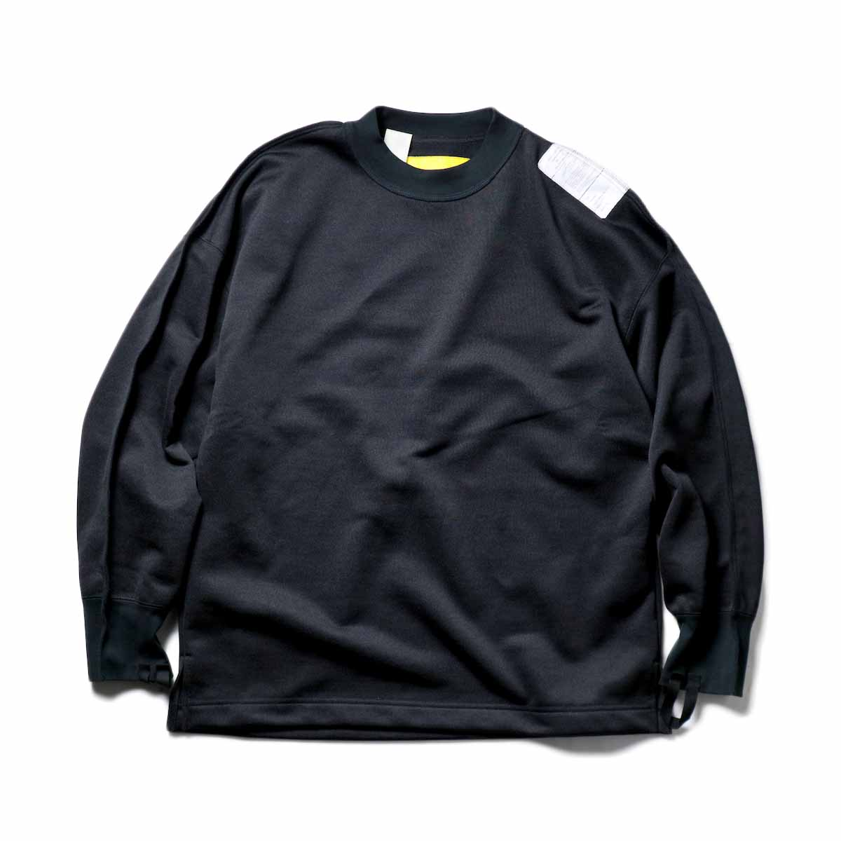 N.HOOLYWOOD / 9211-CS08-024pieces Crew Neck Sweat Shirt (Black)
