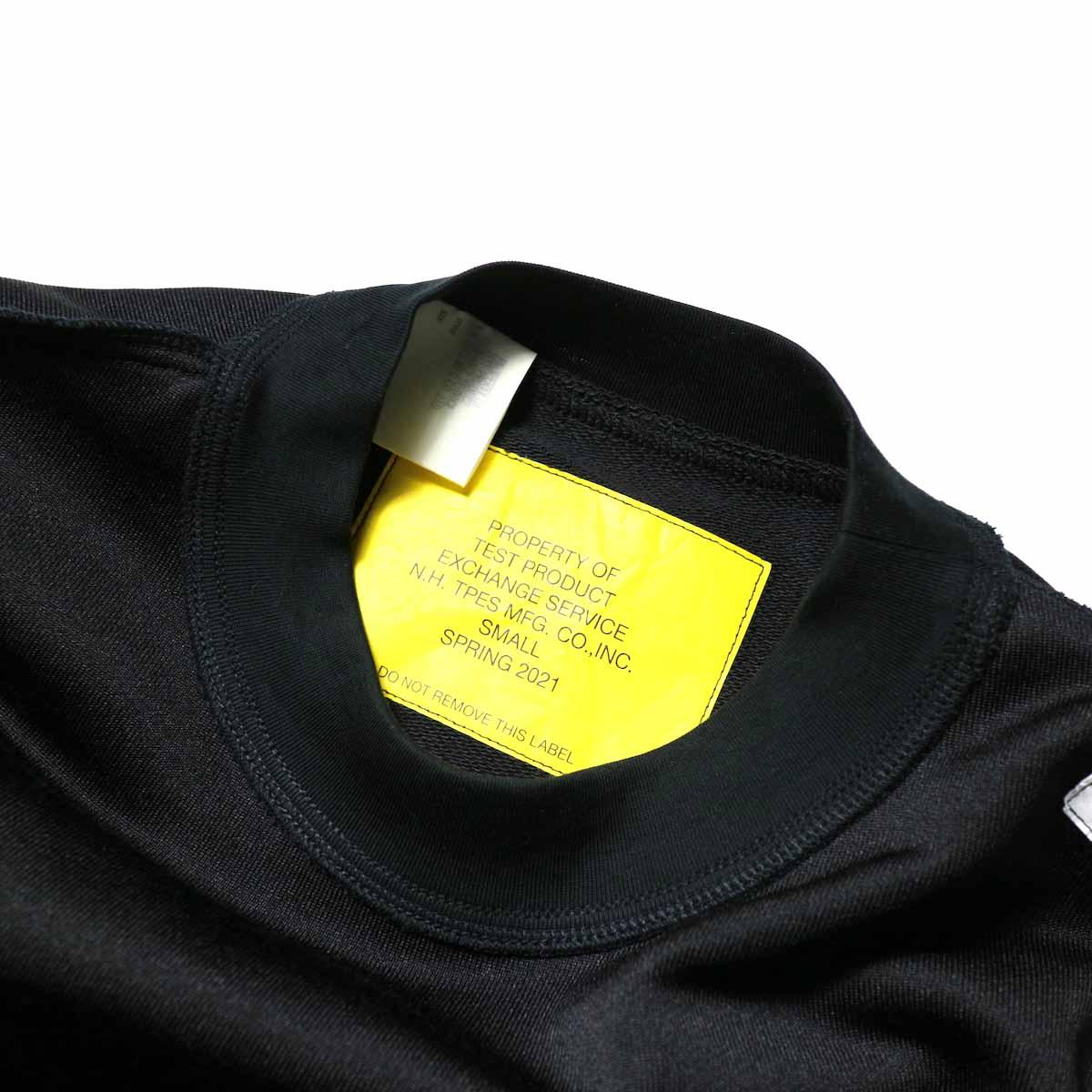 N.HOOLYWOOD / 9211-CS08-024pieces L/S Jersey (Black)サイズスペック