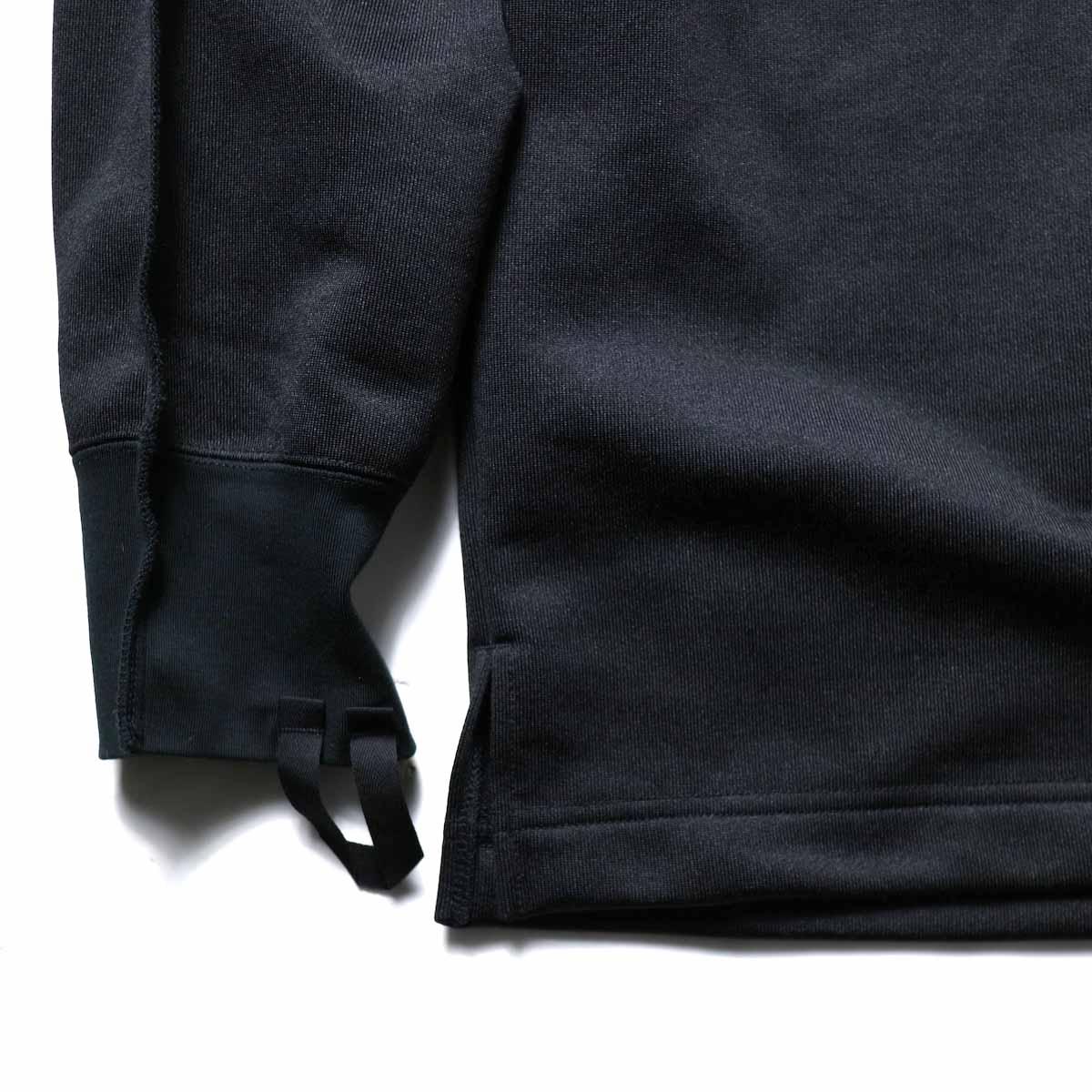 N.HOOLYWOOD / 9211-CS08-024pieces L/S Jersey (Black)袖、裾