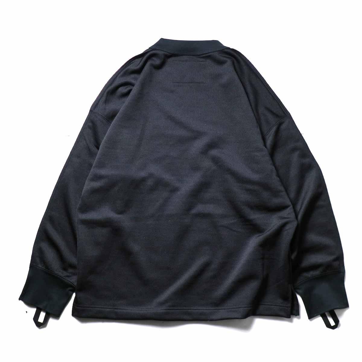 N.HOOLYWOOD / 9211-CS08-024pieces L/S Jersey (Black)背面