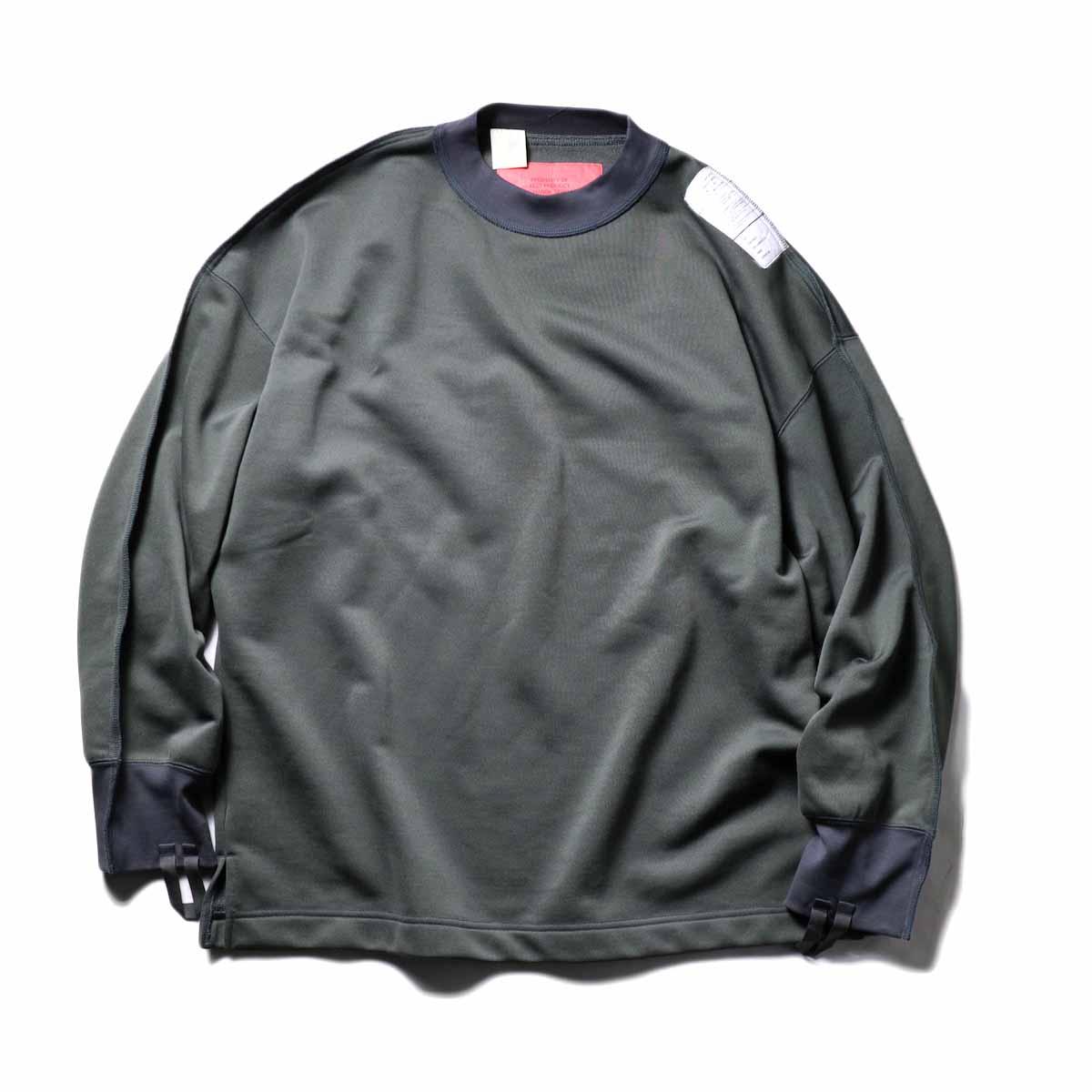 N.HOOLYWOOD / 9211-CS08-024pieces Crew Neck Sweat Shirt (Gray)