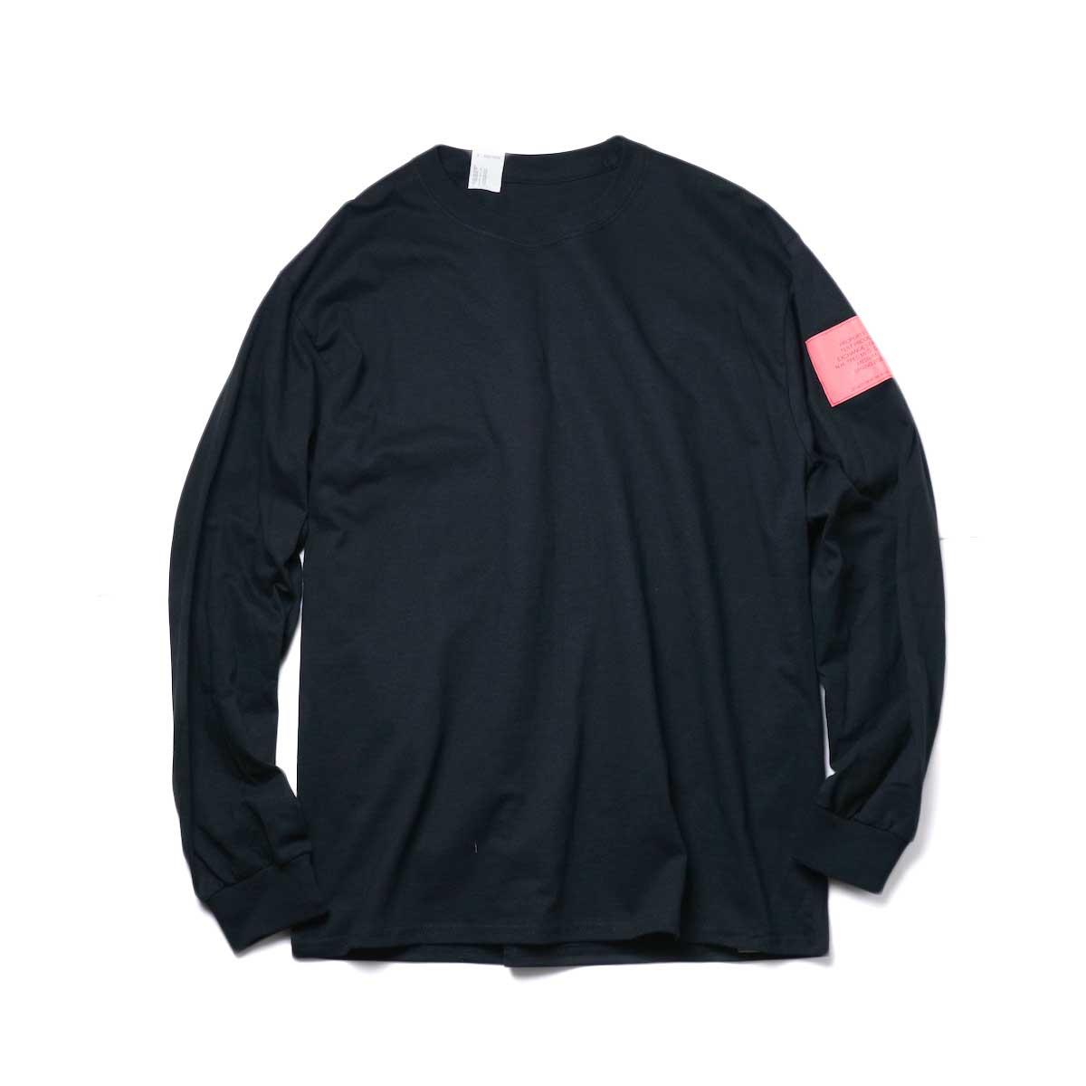 N.HOOLYWOOD / 9211-CS82 pieces CREW NECK LONG SLEEVE T-SHIRT (Black)