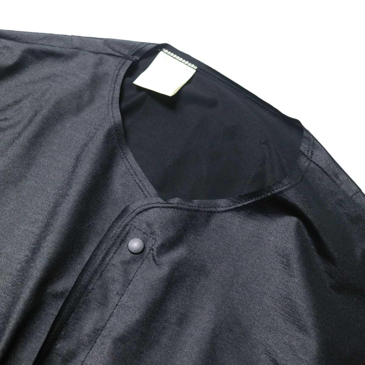 N.HOOLYWOOD / 9211-SH07-010 pieces Shirt Cardigan (Black)ノーカラー
