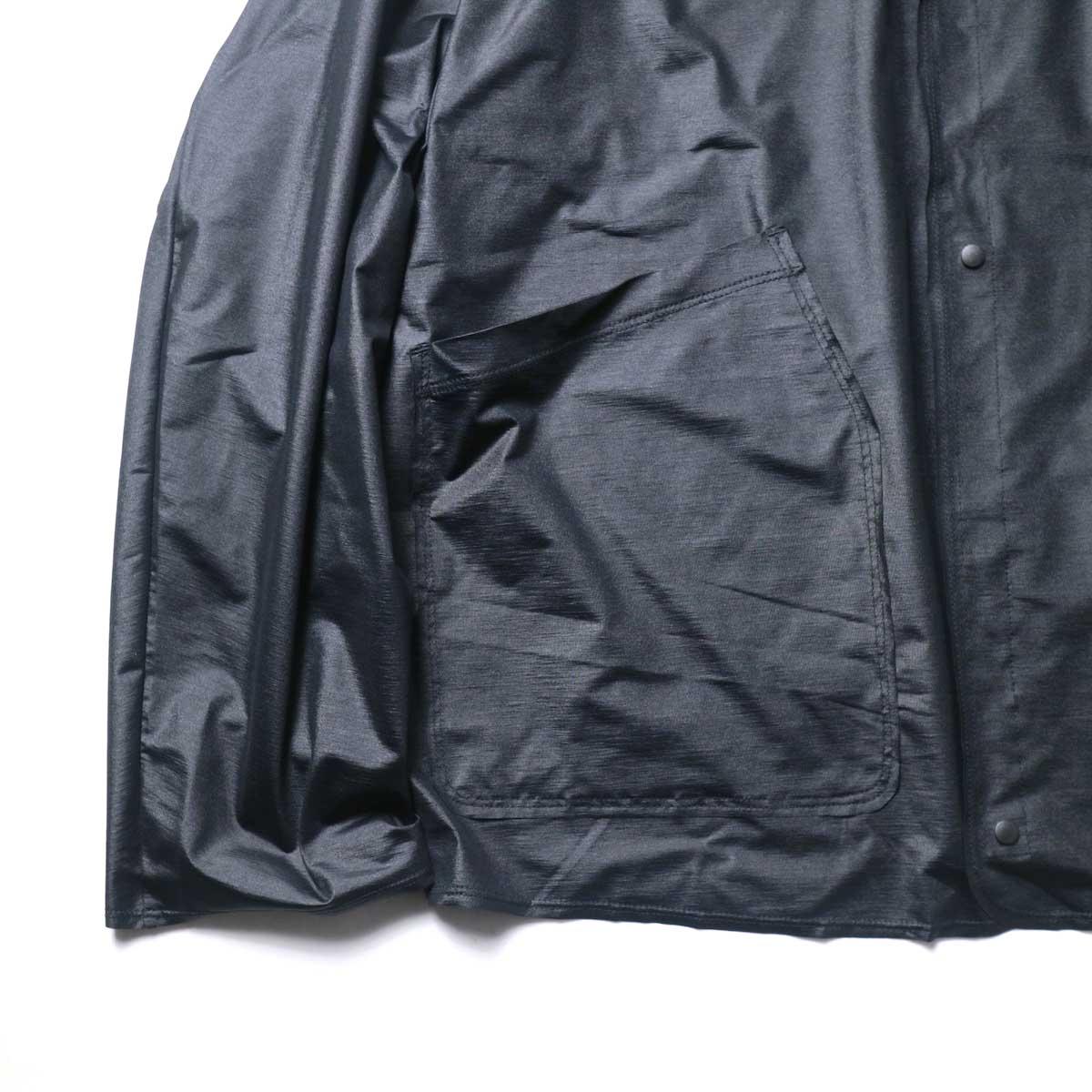 N.HOOLYWOOD / 9211-SH07-010 pieces Shirt Cardigan (Black)袖、裾