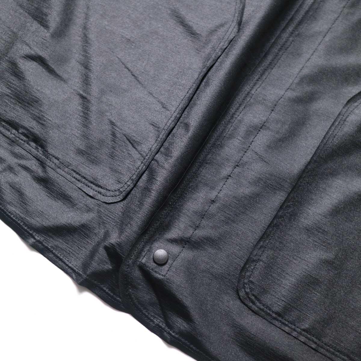 N.HOOLYWOOD / 9211-SH07-010 pieces Shirt Cardigan (Black)裾