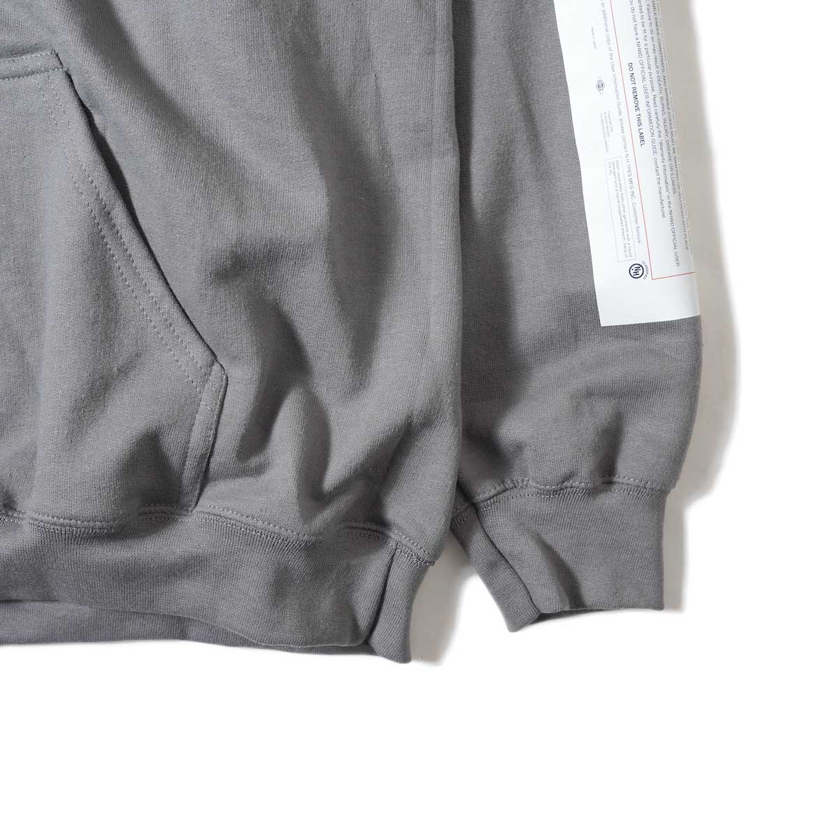 N.HOOLYWOOD / 9212-CS82 Hooded Parka (Charcoal)袖、裾
