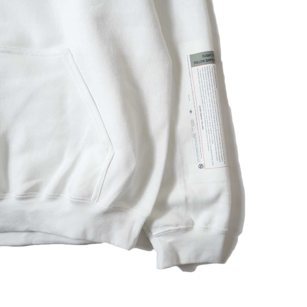 N.HOOLYWOOD / 9212-CS82 Hooded Parka (Whhite)袖、裾