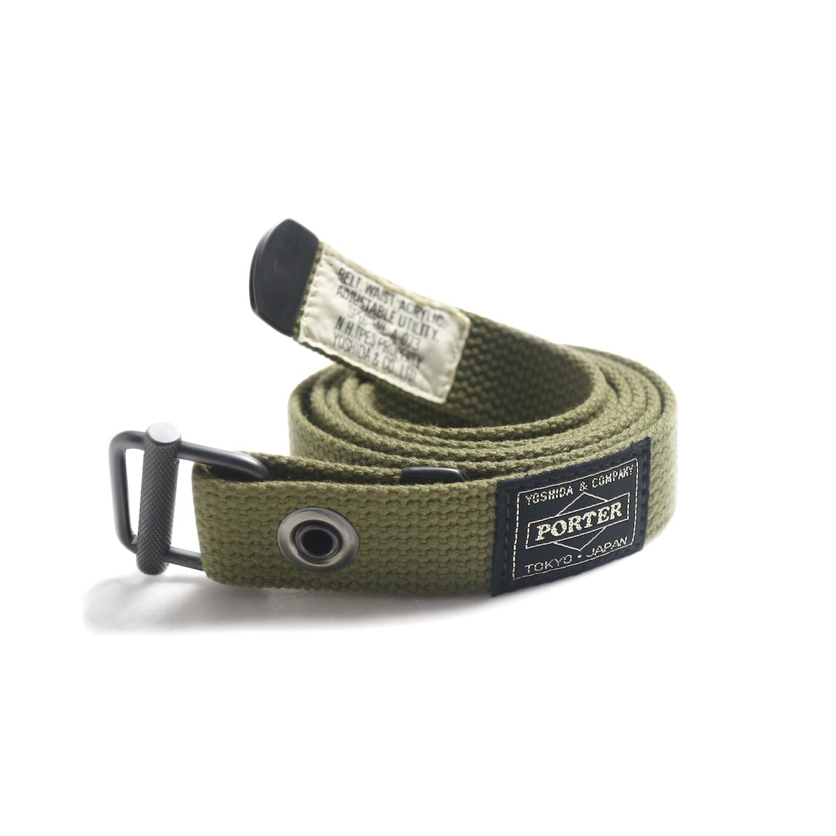 N.HOOLYWOOD × Porter / 991-AC04-pieces Military Belt -Khaki