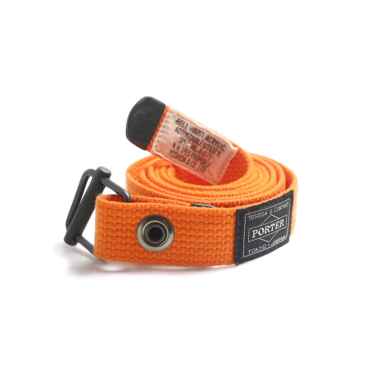 N.HOOLYWOOD × Porter / 991-AC04-pieces Military Belt -Orange